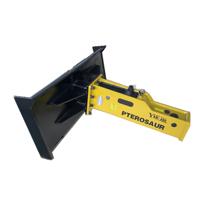 hydraulic breaker rock hammer for skid steer loader